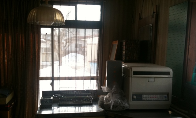 自宅の南窓
