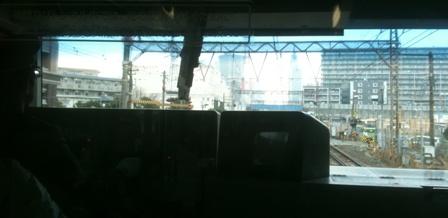 東海道線の電車