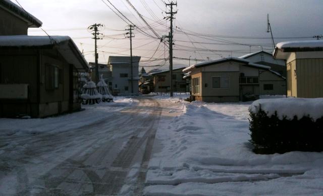 雪の様子1