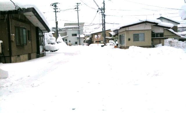 米沢市の雪