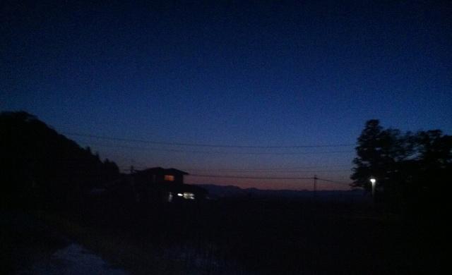 まるで夏の夜