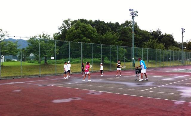 夏休みテニス講習会(1)