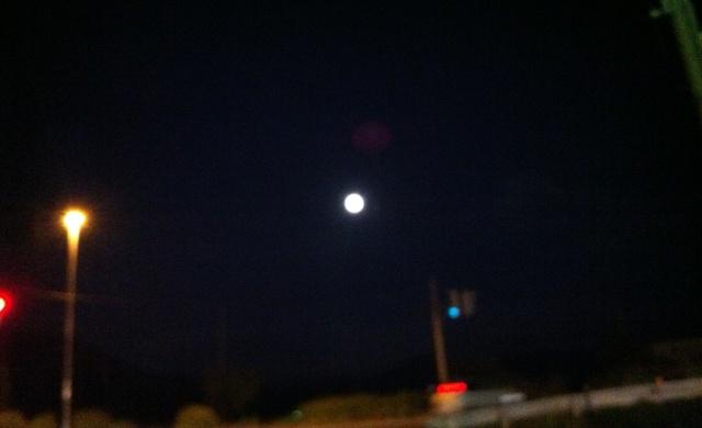 満月に近い
