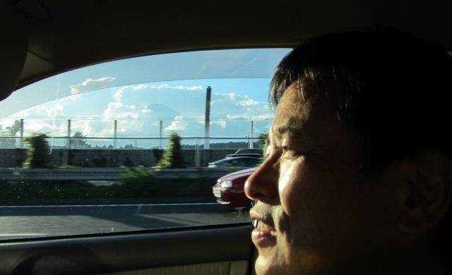 富士山が隣に