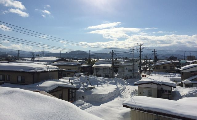 屋根からの景色
