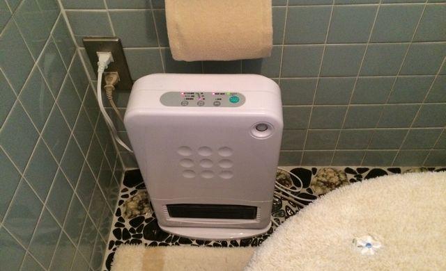 トイレの暖房器具